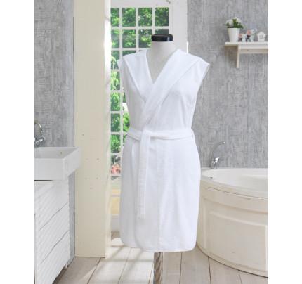 Халат женский Soft Cotton Duru (белый)