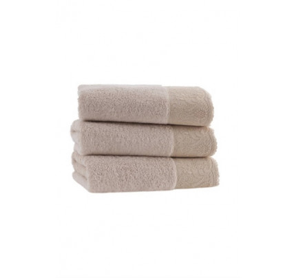 Набор полотенец Soft Cotton Hazel (светло-бежевый, 2 предмета)