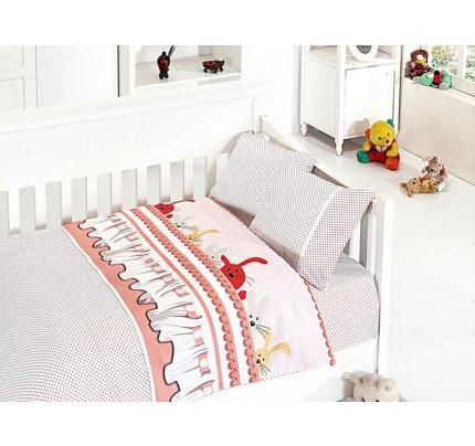 Детское постельное белье First Choice Ginny pudra