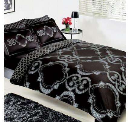 Постельное белье TAC Palladio (черное)