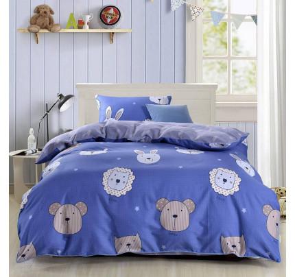 Sofi de Marko Зоомир (синий) детское постельное белье