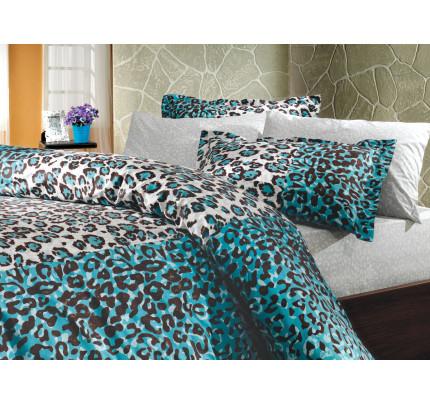 Постельное белье Hobby Home поплин Adriana (синий)
