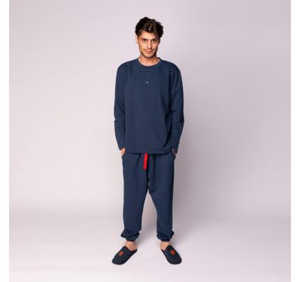 Пижама мужская Sofi de Marko Дамиан (синяя)