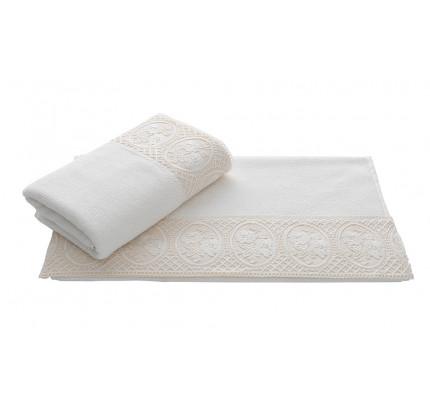 Полотенце Soft Cotton Eliza (белое)