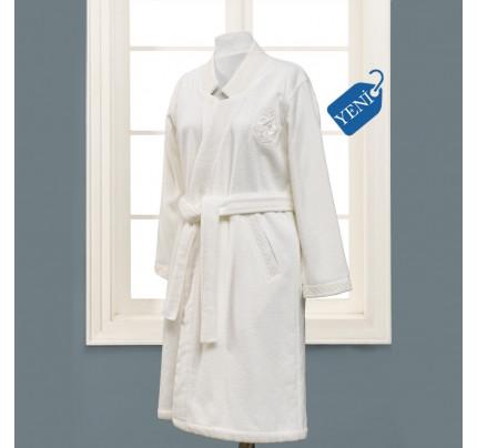 Халат женский Soft Cotton Eliza (белый)