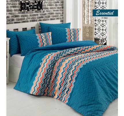 Постельное белье Arya Essentiel (голубое)
