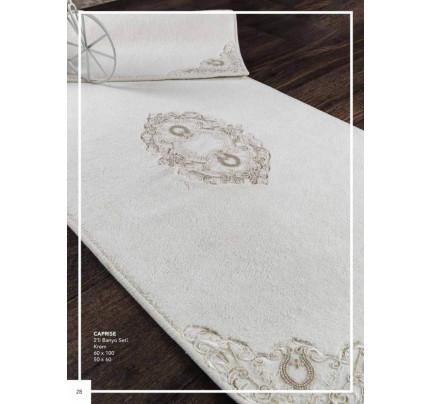 Набор ковриков Karven Caprice кремовый (50x60+60x100)