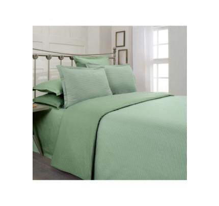 Постельное белье SAREV Fancy stripe зеленый-светло-зеленый евро