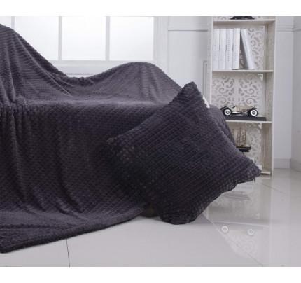 Декоративная наволочка Sofi de Marko Fantastic (серый) 50x50