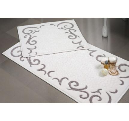 Набор ковриков Karven Beysehir бежевый (50x60+60x100)