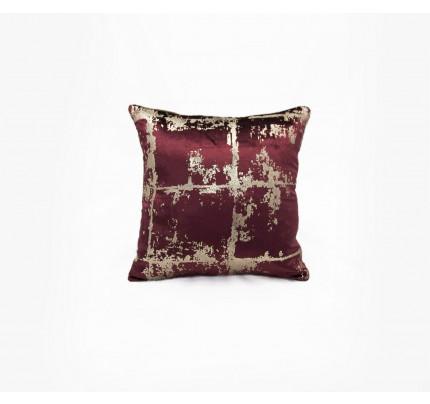 Декоративная наволочка Sofi de Marko Амалия (коричневый) 45x45