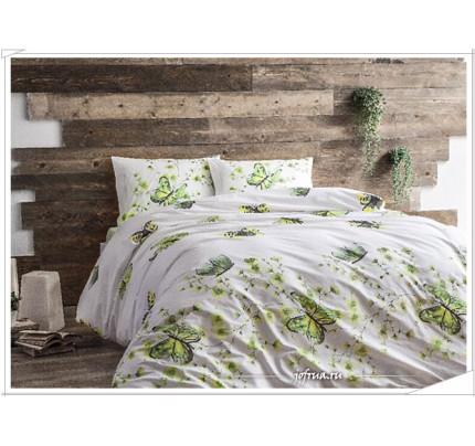 Постельное белье Tivolyo Home Fiori (зеленое)