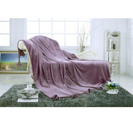 Плед Sofi de Marko Flounce (фиолетовый)