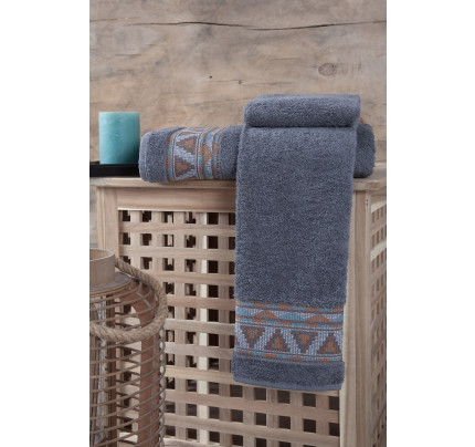 Полотенце Karna Giza (серое)
