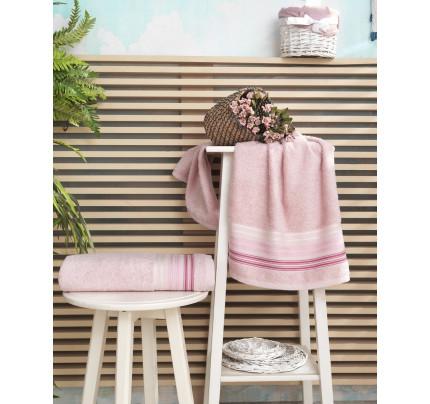 Полотенце Karna Paula (розовое)