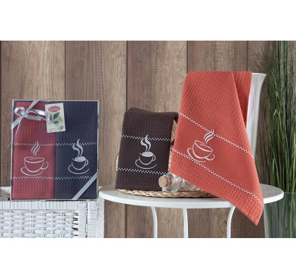 Набор салфеток Karna Tea Time V1 (2 предмета) 40x60