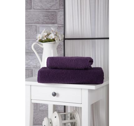 Полотенце Karna Linda (фиолетовое)