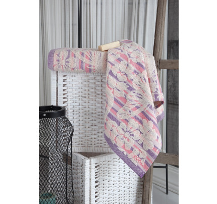 Полотенце Karna Mariposa (розовое)