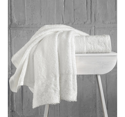Набор полотенец Karna Elinda 50x90 (кремовый, 2 предмета)