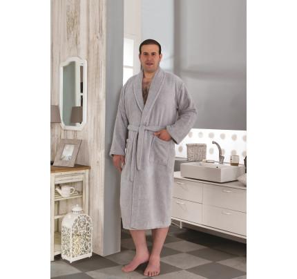 Karna Smart халат махровый (серый)