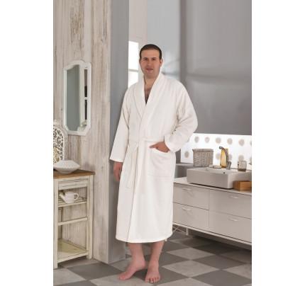 Karna Smart халат махровый (кремовый)