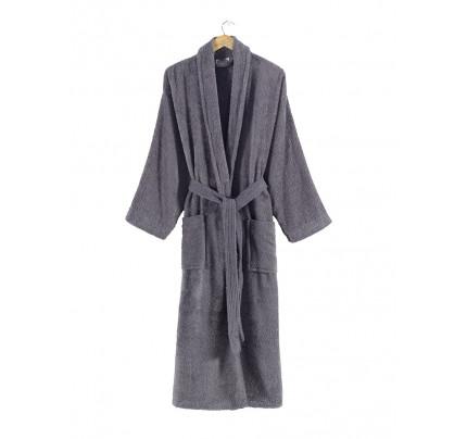 Karna Ferat халат махровый (серый)