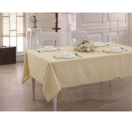 Скатерть Karna Cotton Linen V11 160x220