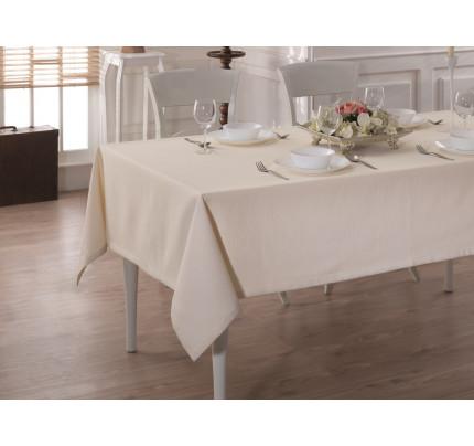 Скатерть Karna Cotton Linen V9 160x220
