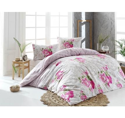 Постельное белье Altinbasak Lucca (розовый) 1.5-спальное