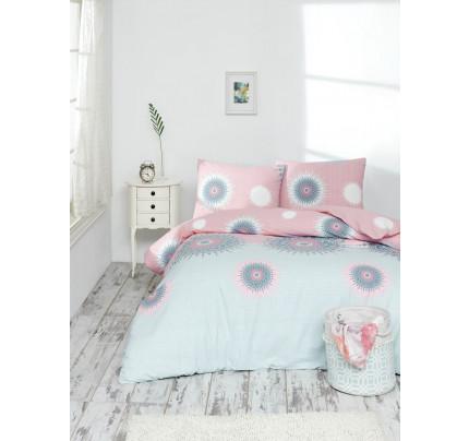 Постельное белье Altinbasak Orleon (розовый) 1.5-спальное