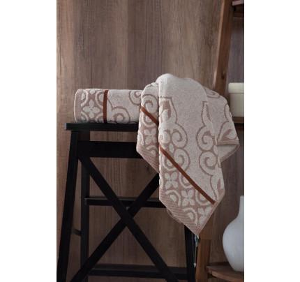 Полотенце Karna Tunus (коричневое)