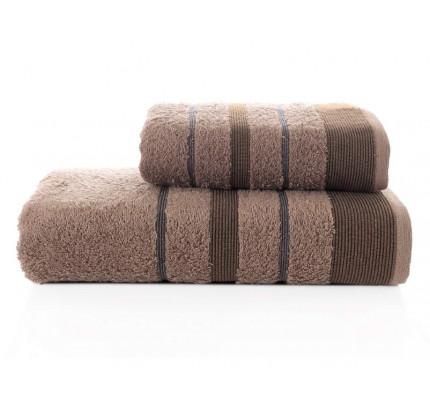Набор полотенец Karna Regal Set (коричневый, 2 предмета)