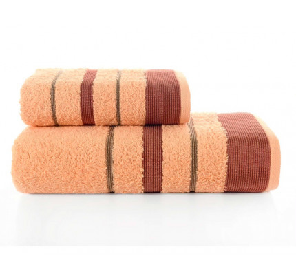 Набор полотенец Karna Regal Set (абрикосовый, 2 предмета)