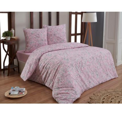 Постельное белье Karna бязь Rosina (розовый)