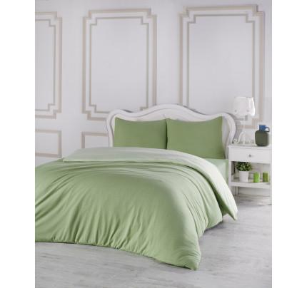 Постельное белье Karna Sofa (зеленый-светло-зеленый)