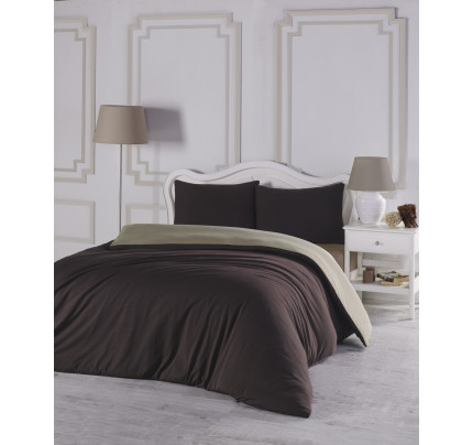Постельное белье Karna Sofa (коричневый-бежевый)