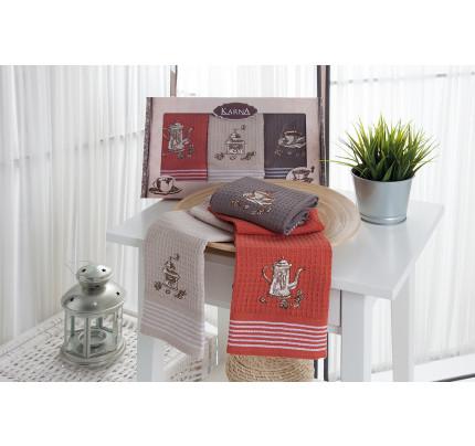 Набор салфеток Karna Sious (3 предмета, 40x60)