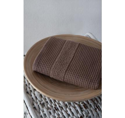 Салфетка Karna Truva (коричневый) 40x60