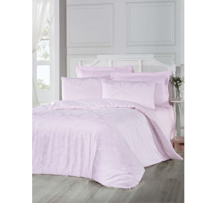 Постельное белье Altinbasak Benna (розовый) евро