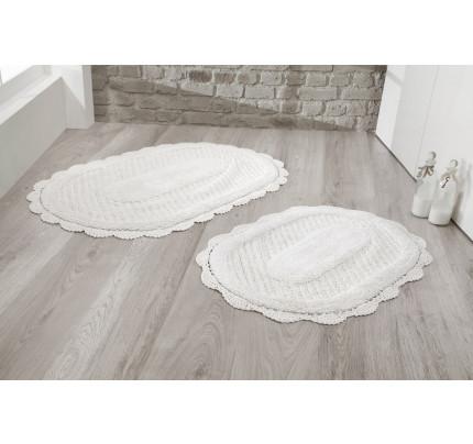 Набор ковриков для ног Modalin Lokal (кремовый) 50x70+60x100