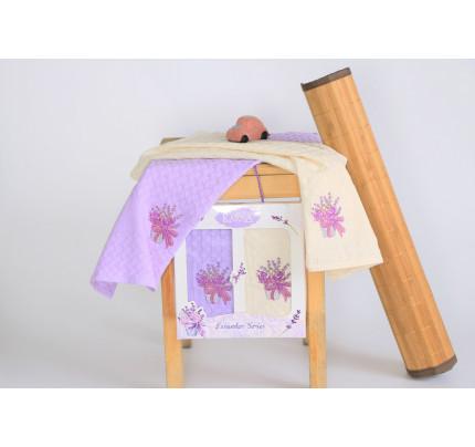 Салфетки Karna Lavender V2 (2 предмета, 45x65)