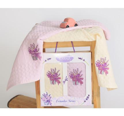 Салфетки Karna Lavender V3 (2 предмета, 45x65)