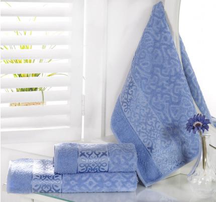 Полотенце Karna Sahra (голубое)