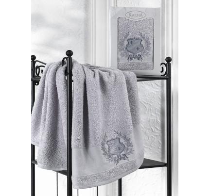 Полотенце Karna Davin (серый) 50x90