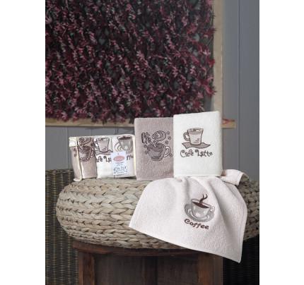 Набор салфеток Karna Cafe Prima V1 (3 предмета) 30x50