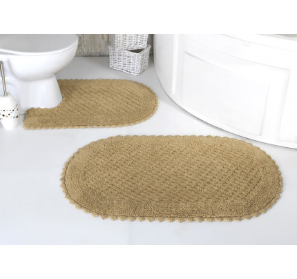 Набор ковриков для ног Modalin Prior (бежевый) 50x70+60x100