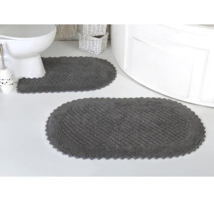 Набор ковриков для ног Modalin Prior (темно-серый) 50x70+60x100