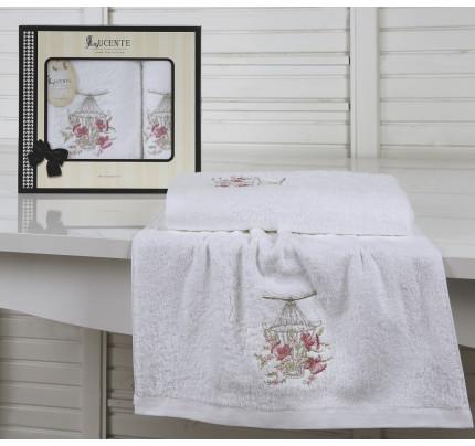 Набор полотенец Lucente Gabbia (белый, 2 предмета)
