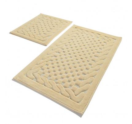 Набор ковриков Gelin Home Erguvan (2 предмета) бежевый