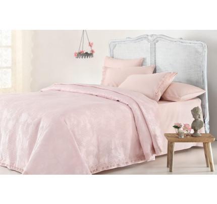 Набор с покрывалом Gelin Home Elena (розовый) евро